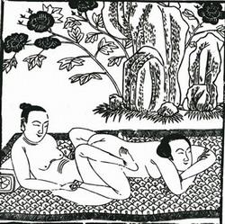 Несмотря на весь эстетизм, в Китае широко практиковался сексуальный