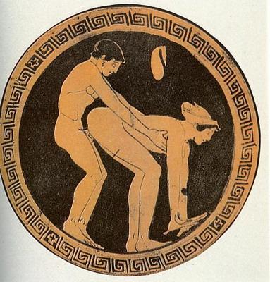 Оральный секс в древней греций