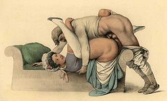 Изображение поз в сексе в средневековье