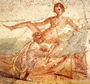 Сексуальные позы древних ж